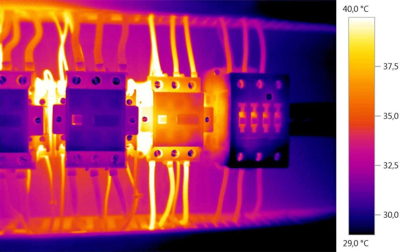 ترموگرافی تجهیزات الکتریکی
