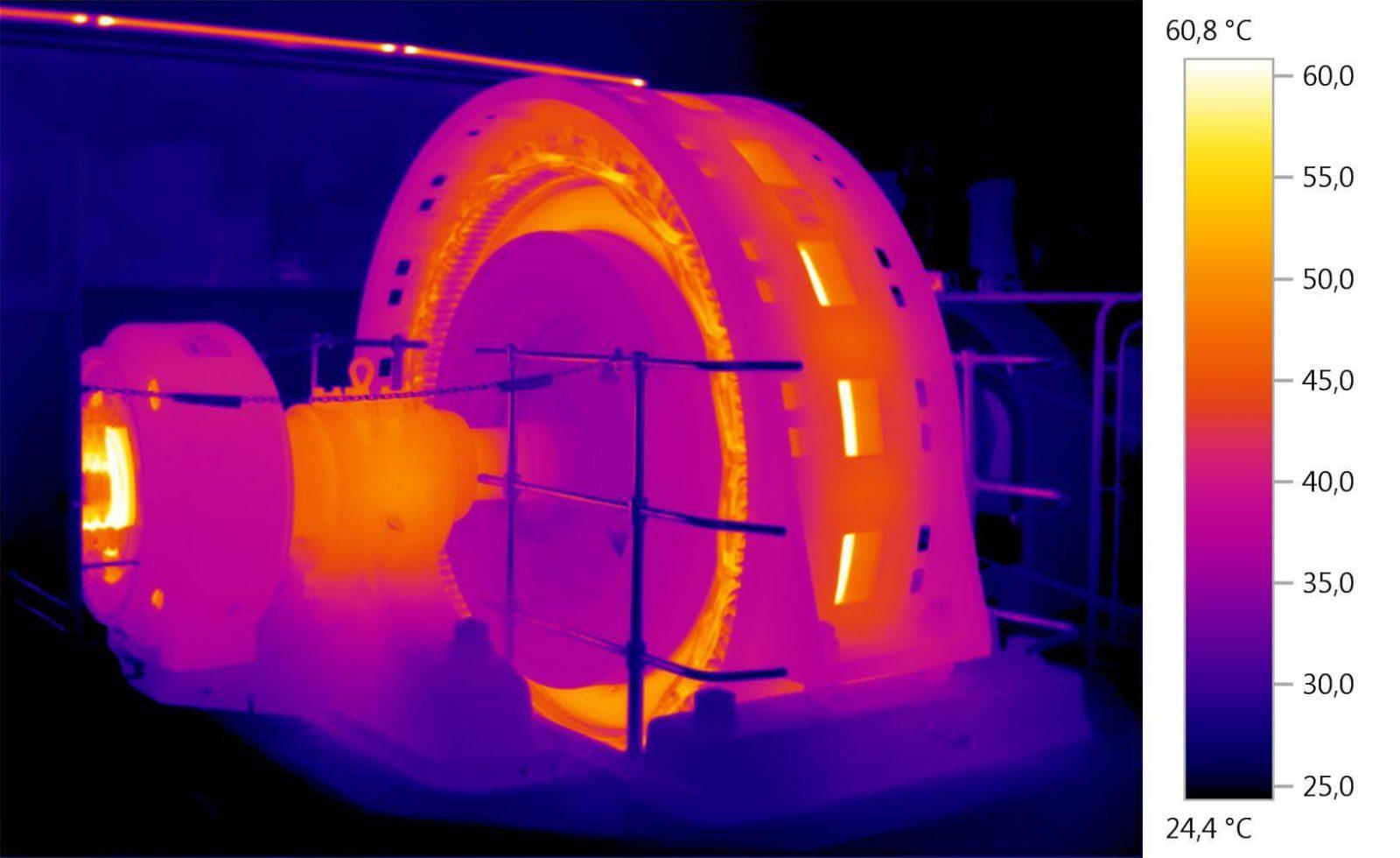 ترموگرافی تجهیزات مکانیکی